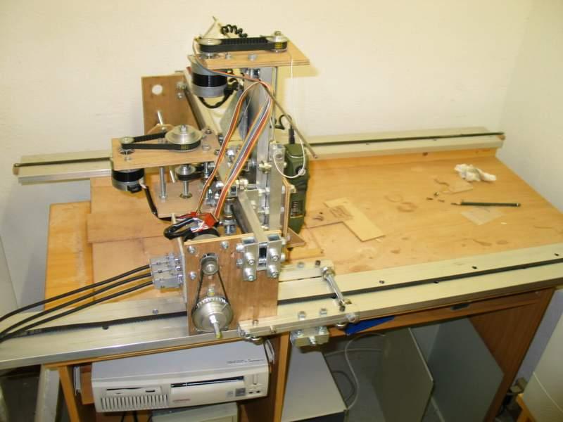 La mécanique version v2, aprés le remplacement des moteurs par des